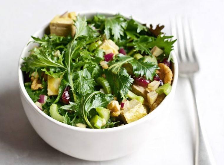 Candice Kumai tofu salad