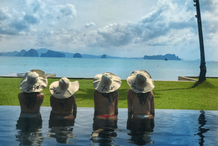 How to vacay in Thailand like an angel (a Victoria's Secret Angel, that is)