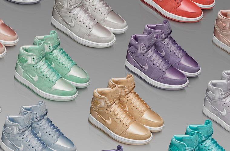 Thumbnail for Nike's Jordan Brand is finally doing women's sneakers—and they're *super* colorful