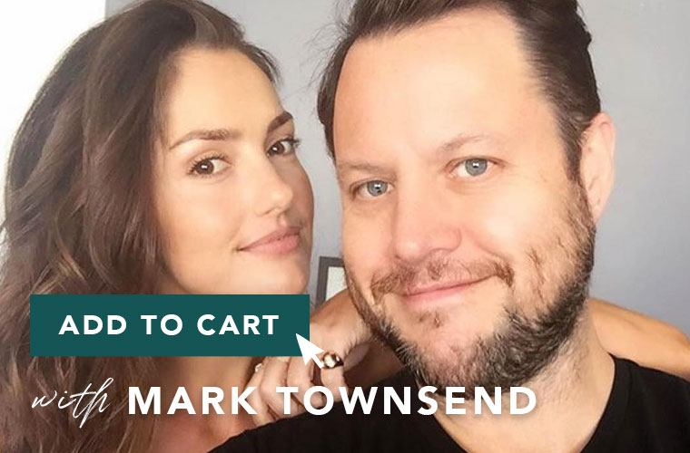 Mark Townsend and Minka Kelly