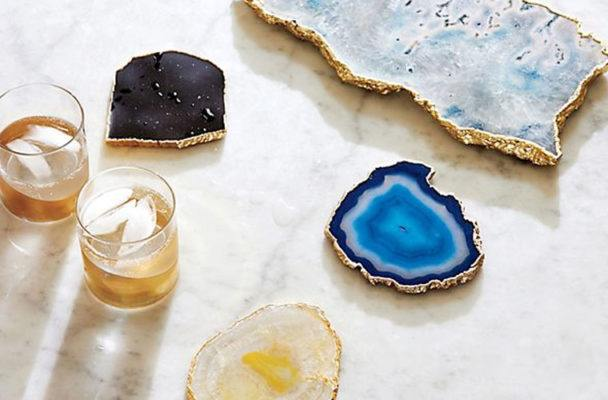 Here's why you should really have a set of agate coasters at home