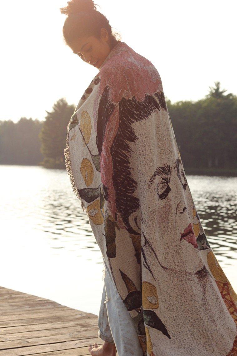 Artful blankets