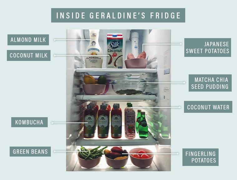Holy Matcha refrigerator