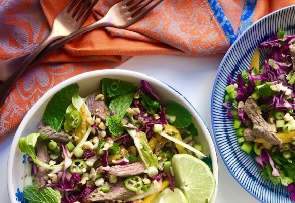 Beat salad fatigue with this Paleo Thai beef salad