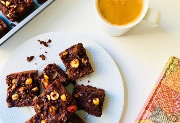This brownie recipe is rich, chocolatey, *and* ketogenic-friendly