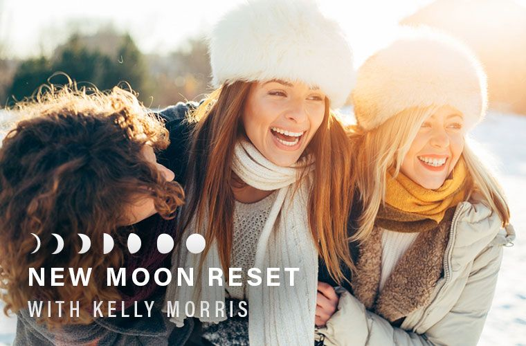 New Moon Reset ritual for January 2018