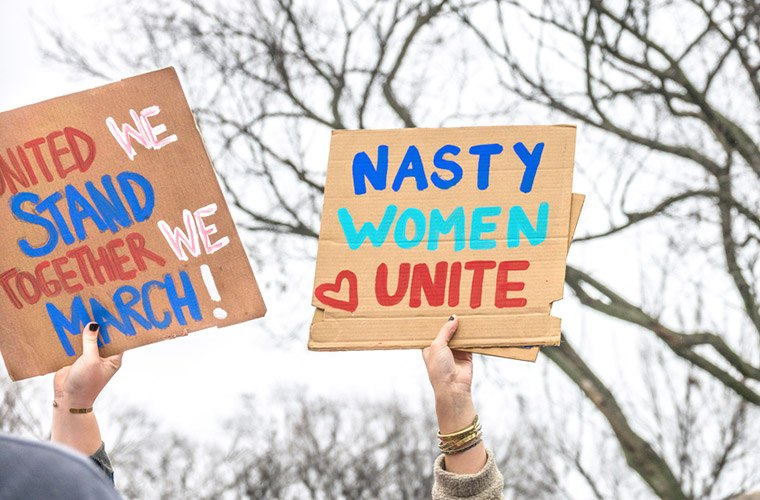 Thumbnail for The Women's March is shifting its focus to getting ladies elected