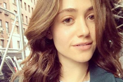 Emmy Rossum's egg-free breakfast burrito is packed with vegan protein