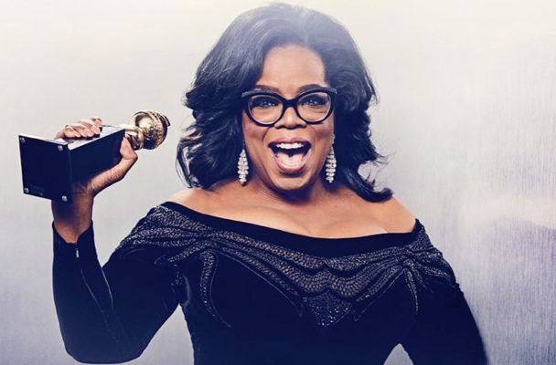 Thumbnail for Oprah was an inspo machine at the Golden Globes last night—but she wasn't the only one