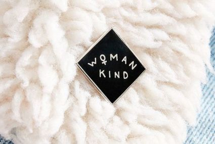 7 feminist pins for customizing your winter hygge wear
