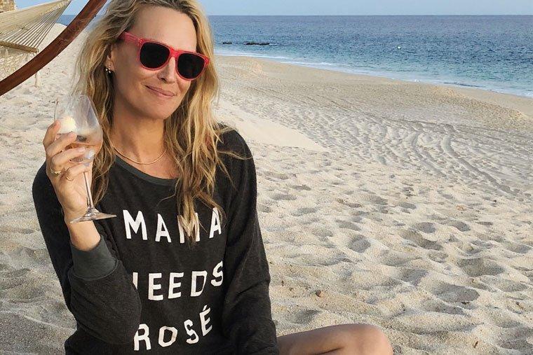 Molly Sims' stress-busting tips