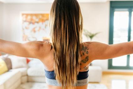 This is how often to wash your hair if you work out every day