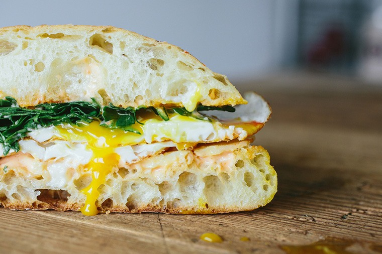 What's in your breakfast sandwich?