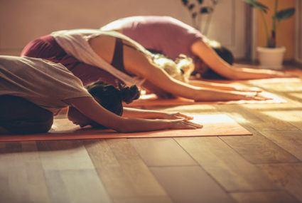 Co-ed yoga Nude Photos 11