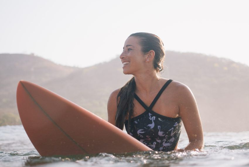 Plan to surf on your beachy getaway? Keep your mouth closed—for your...