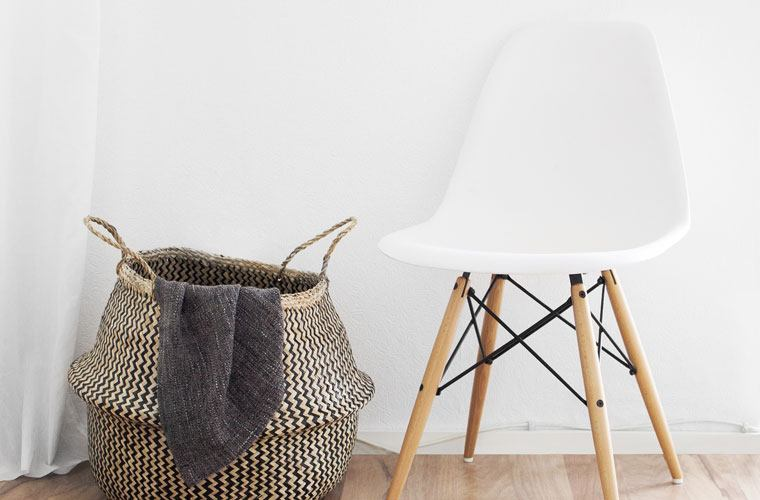 Thumbnail for 9 Laundry Hampers That'll Make Your Dirty Duds Look High Design