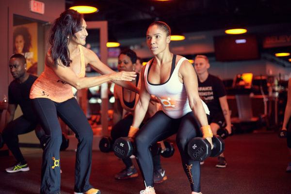 FYI: Orangetheory offers some of the *best* sweaty workouts all over the country