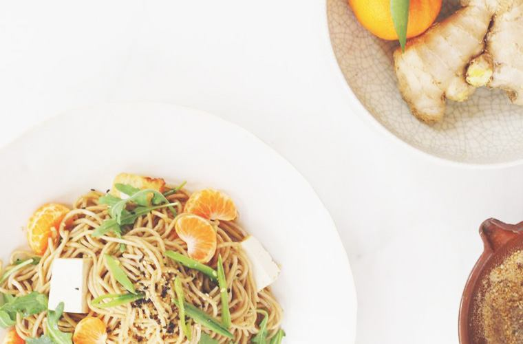 Thumbnail for 5 weeknight dinner recipes from Candice Kumai made with longevity-boosting foods