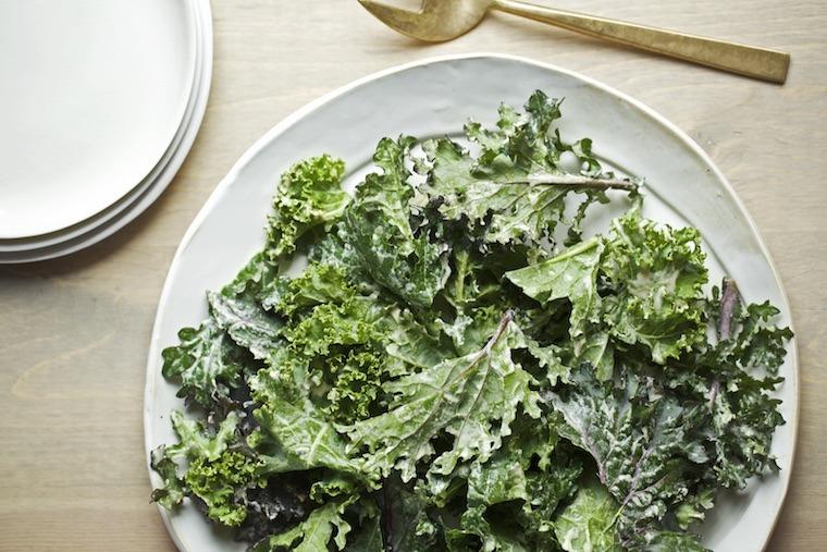 Candice Kumai kale salad