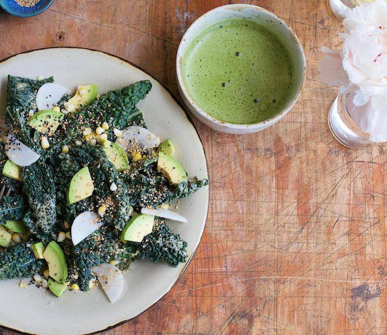 Candice Kumi miso salad