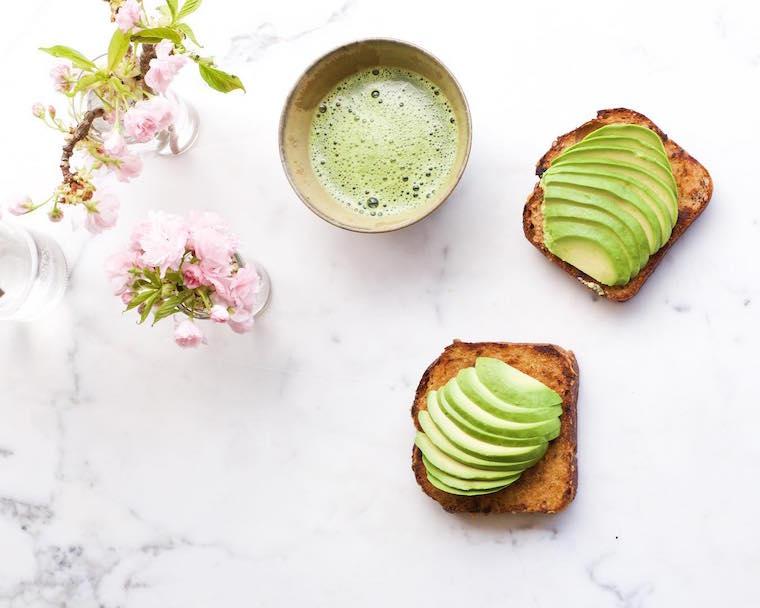 Candice Kumai miso avocado toast