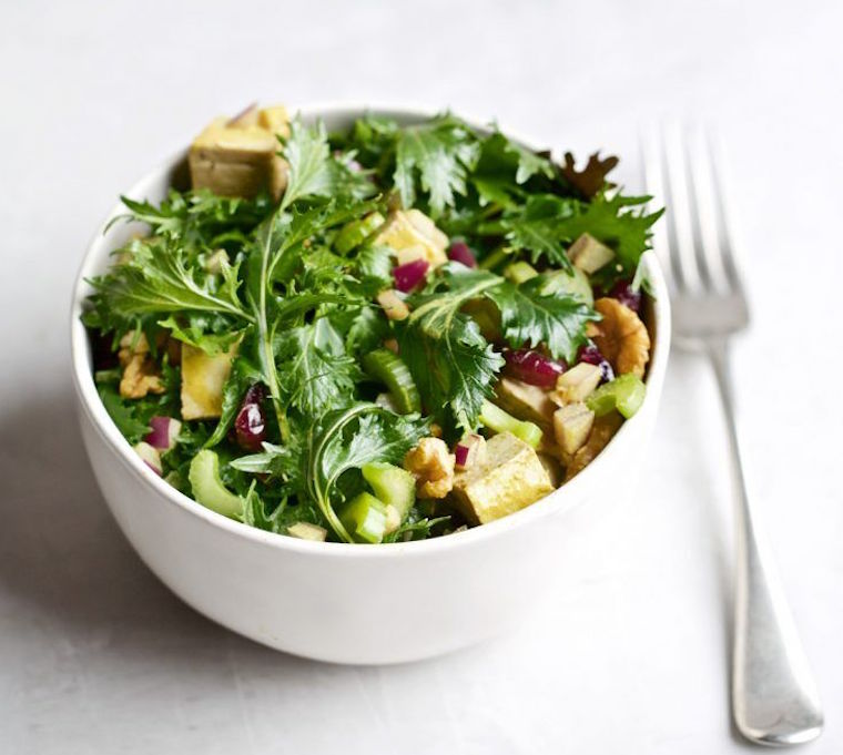 Candice Kumai beauty and brains salad