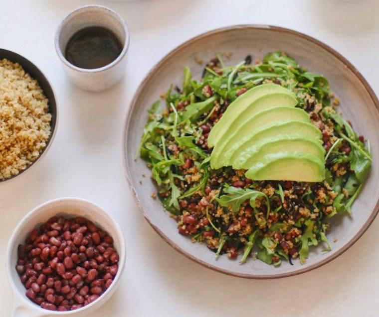 Candice Kumai seaweed and avocado salad