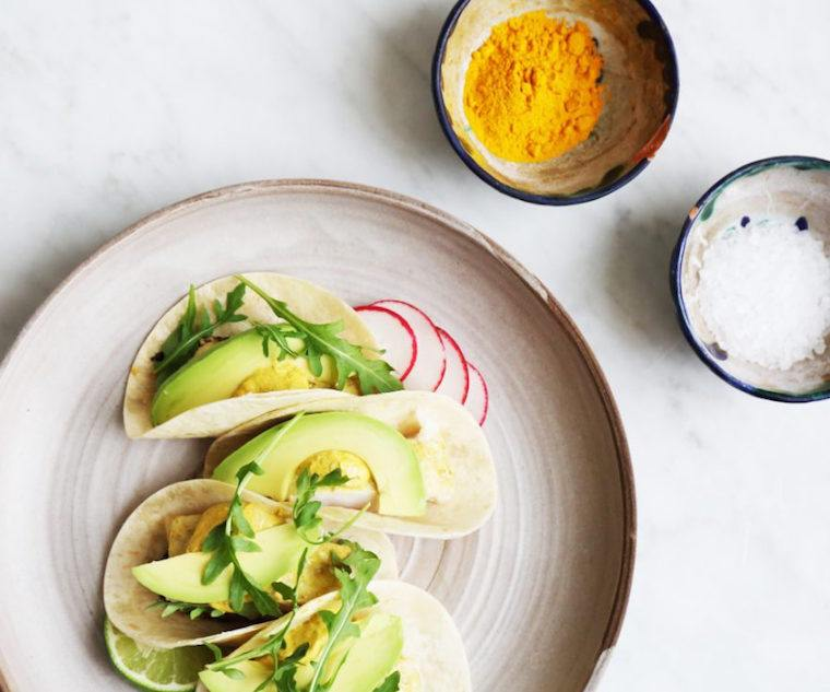Candice Kumai taco recipe