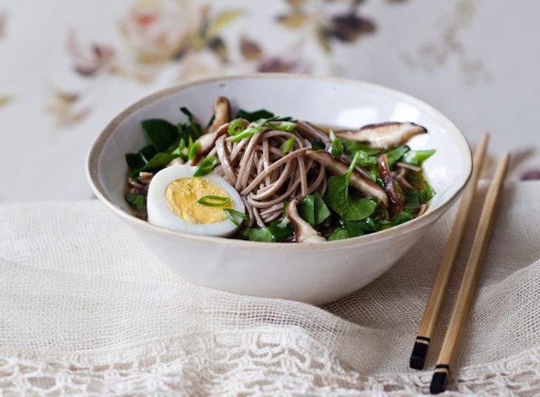 Candice Kumai clean soda noodle soup