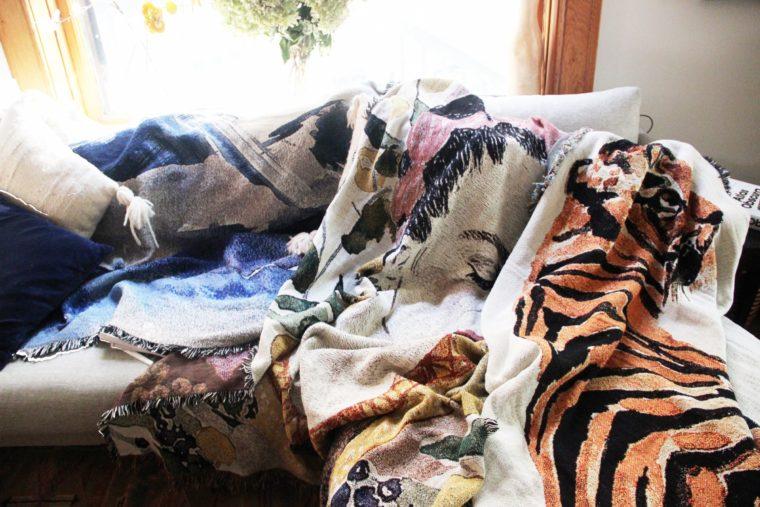Blankets as art