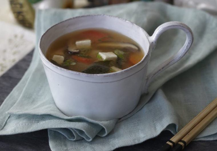 Candice Kumai miso soup