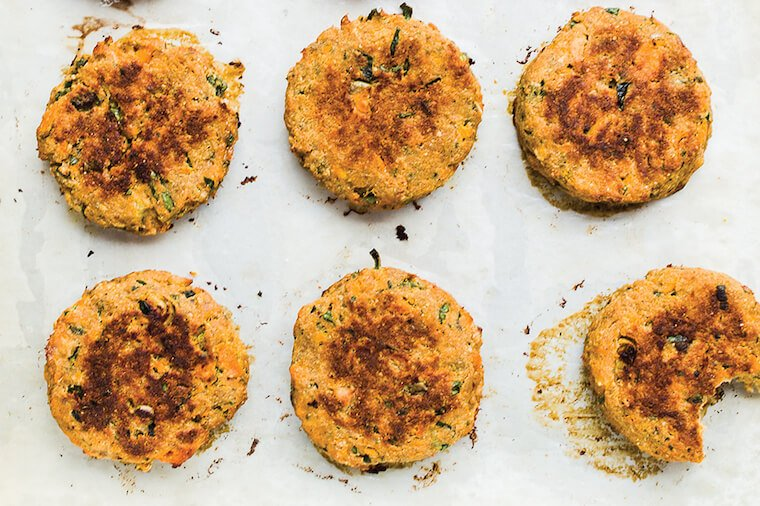 Salmon cake Whole30 recipe by Melissa Joulwan.