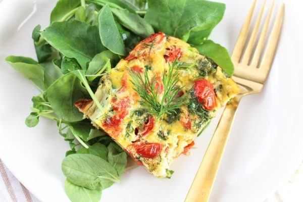 Thumbnail for This easy-to-make smoked salmon frittata instantly upgrades your weekend brunch goals