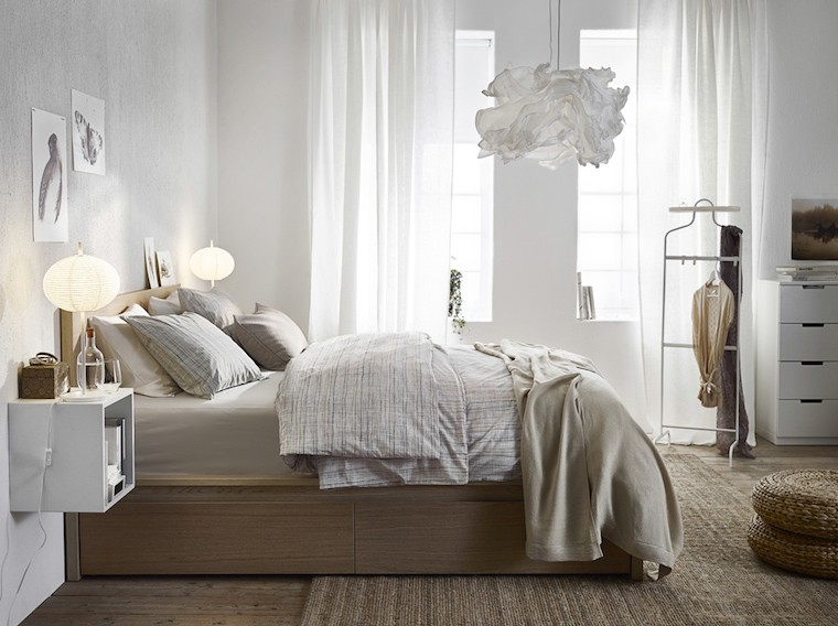 ikea bedroom organization tips