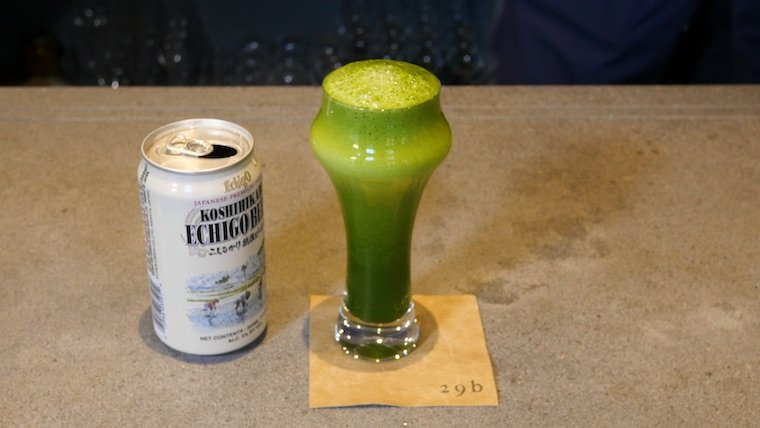 How to make matcha beer