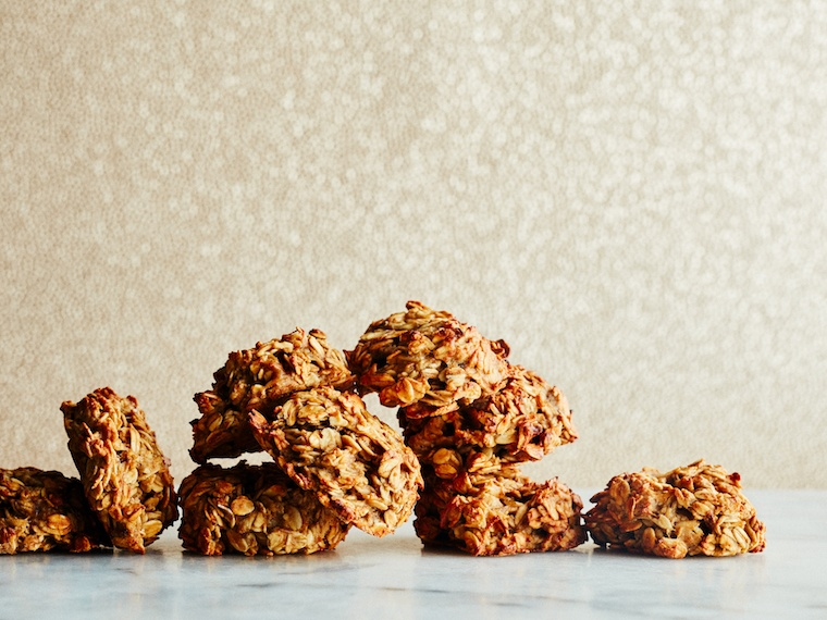 Thumbnail for These gluten-free oatmeal banana cookies double as a gym-bag friendly breakfast