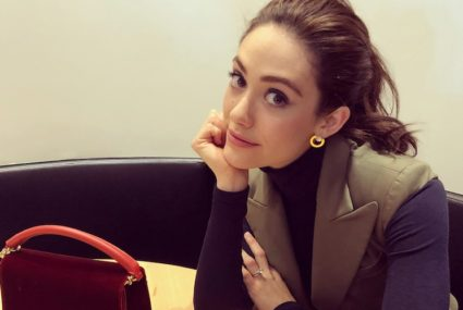 This is the super-buzzy butt workout Emmy Rossum did during her downtime at Sundance