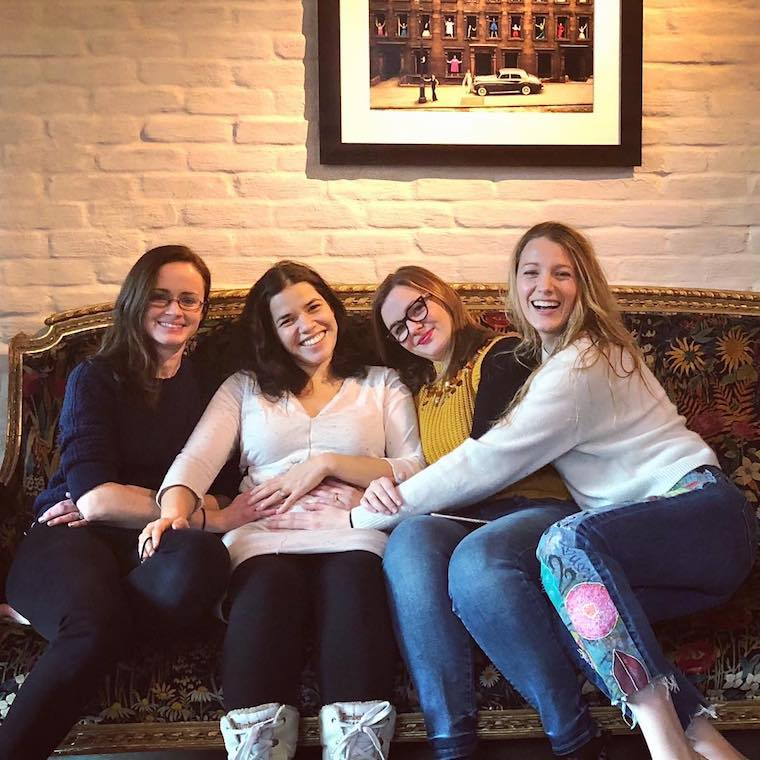 Sisterhood of the traveling pants America Ferrera Times Up Campaign and Pregnancy