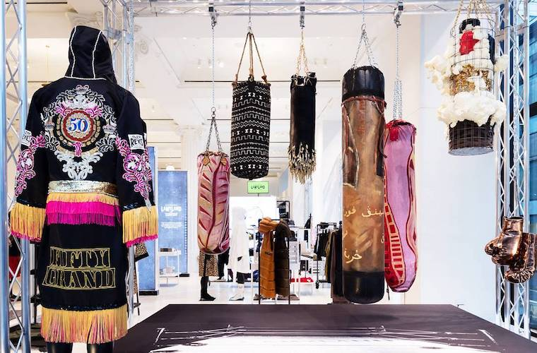 Boxing Continues Its Fitness World Domination With a High-Fashion Takeover