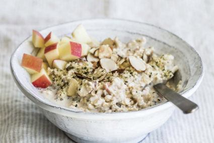 Well+Good - Give your breakfast the hygge treatment with a warm bowl of apple ginger muesli