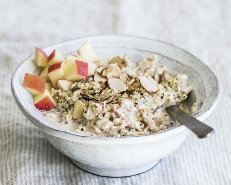 Thumbnail for Give your breakfast the hygge treatment with a warm bowl of apple ginger muesli