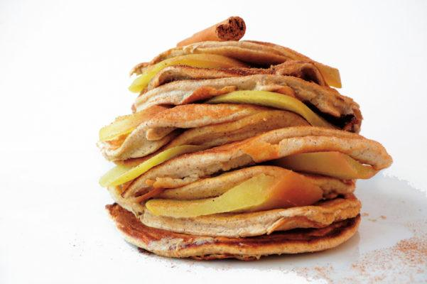 Fuel Your Morning With These Apple and Sweet Potato Protein Pancakes