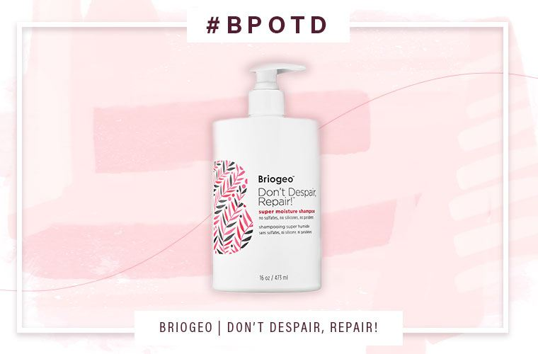 briogeo don't despair repair shampoo