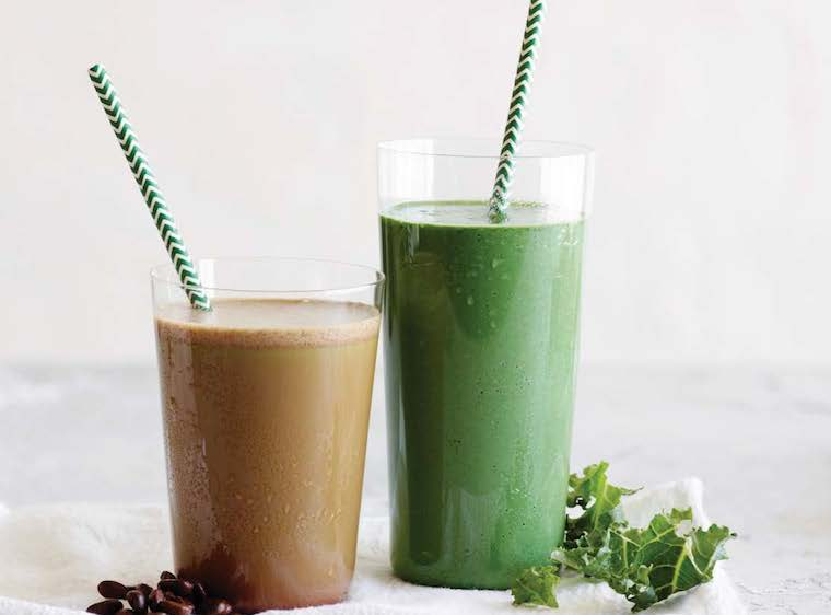 Coffee Green Smoothie