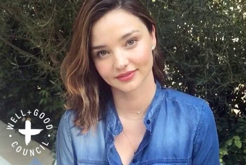 Miranda Kerr's Secrets for Dealing With Stress and Anxiety