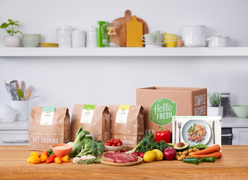 How HelloFresh meal kits work