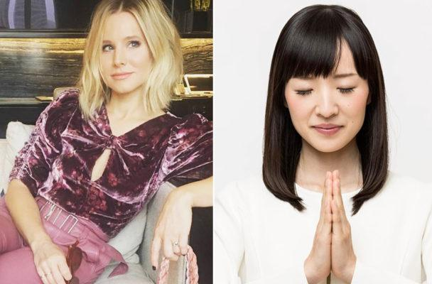 Joy-sparking dream team Kristen Bell and Marie Kondo share how to organize your closet