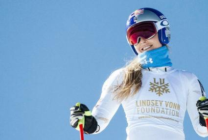 Lindsey Vonn's go-to core-strengthening move