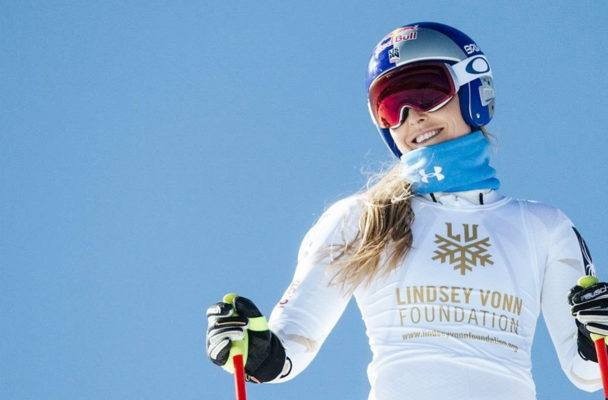 How to do Olympic skier Lindsey Vonn's go-to core-strengthening move (or, in this case, lack thereof)