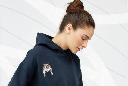 The Upside's Year of the Dog hoodie from Bandier